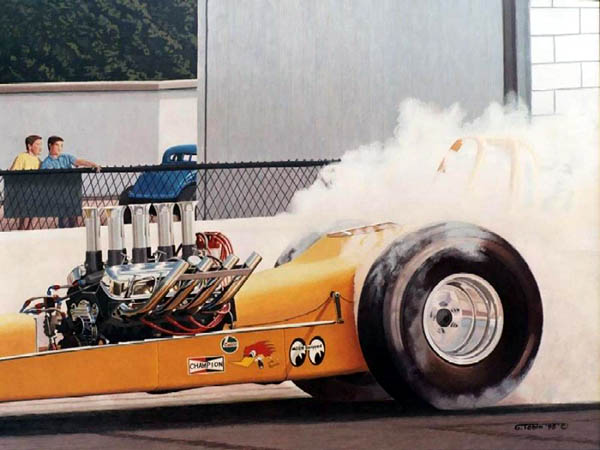 AP0004 'Weekend Warrior' Chevy Powered Dragster