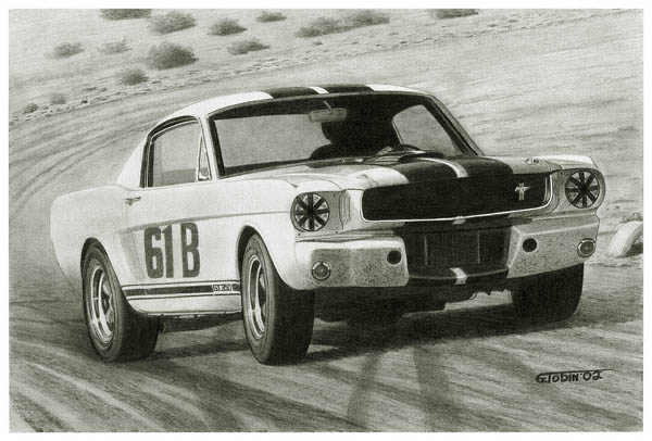 MD2001 Jerry Titus 1965 Shelby Mustang GT-350R