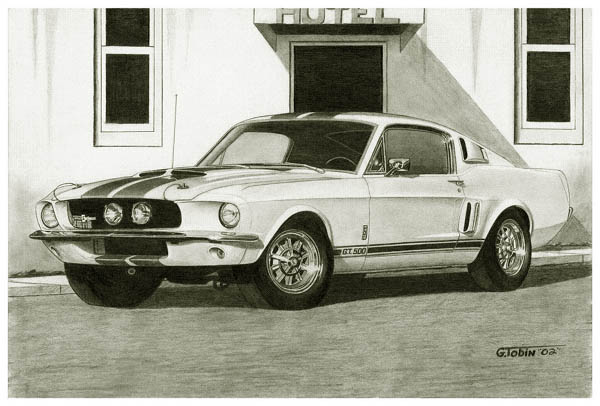 MD2005 1967 Shelby Mustang GT-500